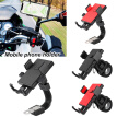 Bike Phone Mount for Motorcycle Bicycle Phone Bracket Outdoor Mountain Bike Electric Car Motorcycle Riding Phone Navigation 360°Ro