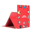 Hello Kitty iPad Pro11 Protective Case 2020 New Apple Tablet PC Protective Shell Cartoon All-inclusive Anti-fall Sleep Stand Leather Case Happy Surround Red