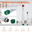 Natural Gas Leak Detector Portable Gas Sniffer Home Gas Alarm Methane Propane Butane Safe Alarm Sensor Detector, High Sensitivity