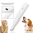 Pet Dog USB Rechargeable Clipper Visible Electric Quantity Puppy Cat Paw Ear Mini Hair Trimmer Pet Electric Grooming Shaver