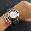 PANDORAS Brand New Women Watch Lady Steel Quartz Models Wristwatch