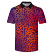 Men's Summer New Trend Hot Sale Animal Texture Series Short Sleeve T-Shirt
