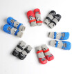 Anti-Slip Knit Dog Socks Winter Shoes Small Pet Cat Shoes Chihuahua Shoes Thick Warm Paw Protector Puppy Socks Booties Accessory