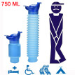XIUQI 750ML Portable Adult Urinal Camping Travel Car Urination Pee Toilet Urine Help