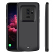 For Samsung Galaxy S9 Plus Battery Charger Case 5200mAh External Backup Charger Power Bank Protective Cover Black