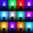 Bluelans 3W E27/E14 16 Colors RGB LED Candle Lamp Light Home Bulb with IR Remote Control