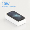 3 in 1 UV Light Cell Phone Sanitizer Phone Wireless Charger Mirror Multi-Function Disinfection Box For Mobile Phone Watches Mask