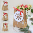 12Pcs Snowflake Candy Art Paper Boxes Wedding Party Favors Gift Cookies Decor