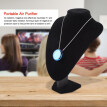 Personal Air Purifier Necklace Wearable Air Freshner Ionizer Odor Eliminator