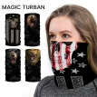 Willstar Multifunctional Joker Skull Headband Riding Scarf Balaclava Bandana Outdoor Sports
