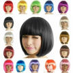 Lady Girl Women's Sexy Full Bangs Wig Short Wig Straight Hair Cosplay Holiday Party Dance prom Decoration