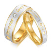 Stainless Steel Couples Rings for Lovers Valentine's Day Wedding Ring Men Women Rings High Quality Jewelry Gift