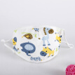 New 0-5T Unisex Cotton Adjustable Face Mouth Mask Baby Kids Stop Air Pollution Cute Cartoon Printed Dustproof Cover