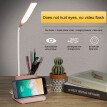 360 degree rotating USB quick charging led soft wick adjustable modern lamp