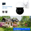 IP Speed 2MP Dome Camera Megapixel High Definition IR Night Vision 8X Digital Zoom 3.6mm Lens IP66 Protect Rate Indoor Outdoor Sec