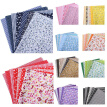 7pcs DIY Assorted Pattern Floral Printed Patchwork Cotton Fabric Cloth For Crafts Bundle Sewing Quilting Fabric