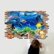 3D Removable Ocean Baby Room Wall Sticker Mural DIY Floor Home Decor Decal Gifts