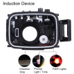 PULUZ 40m Underwater Swimming Diving  Waterproof Camera Case For Canon G7 X