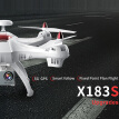 XINLIN X183S 2.4G GPS 5G Wifi 1080P Wide Angle Camera Wifi FPV Altitude Hold RC Quadcopte