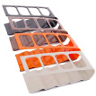 HOMEMAXS 1 PC 4 Frame Remote Organiser Acrylic TV/DVD/VCR Durable Storage Holder Mobile Phone Stand Storage Rack