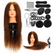 Fashion Hairdressing Training Model Practice Head + Braid Sets