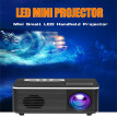 New S361 Mini Home Projector LED Portable Mini Projector Supports 1080p HD