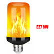 LED Flame Effect Simulated Flicker Nature Fire Bulbs Light Decor E27/B22/E14