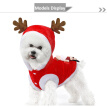 Pets Christmas Clothes Small Dogs Cats Jumper vest Clothes Puppy Outfit XS-XL
