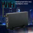 Wireless Hard Drive Box 3.5 Inch USB3.0 Private Cloud NAS Smart Storage Smart Router