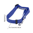 TureClos Pet Seat Leash Vehicle Adjustable Pet Restraining Belt Nylon Safety Strap Automotive Accessory, Blue
