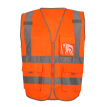 Men Women High Visibility Reflective Vest Sports Outdoor High Quality Reflective Safety Clothing Working Clothes Running Vest