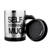 Stainless Steel Coffee Cup Electric Automatic Mixing Coffee Cup With Lid And Handle Coffee Cup For Lazy Person