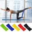 Xinhuaya 5pcs Resistance Bands Natural Latex Elastic Stretch Strap Belts Fitness Hand Leg Stretching Training Accessories