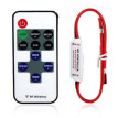 Mini 12V RF Wireless Remote Switch Controller Inline Dimmer for LED Strip Light
