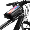 Cycle Bicycle Frame Mobile Phone Bag Case Holder Touch Screen Front Tube Pouch