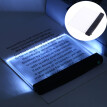 aurora X Creative Flat Plate LED Reading Light Night Light Portable Desk Lamp Eye Protect