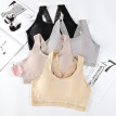 Women Bras Beauty Back Lace Wrapped Chest Slim Underwear Mesh Stitching Sexy Tank Top