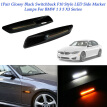 1 Set Car L/R Smoked Led Side Markers Lights Lens Fender For BMW 1 3 5 X3 Series