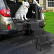 Tuscom Folding Car Dog Steps Stairs Lightweight Portable Rustproof Metal Frame 4 Step