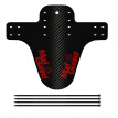 GeweYeeli Front/Rear Tire Wheel Fenders Carbon Fiber Mountain Bike Bicycle Road Cycling Bike Fixed Gear Mudguard