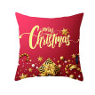Lemenbale New Christmas Pillow Case Red Cushion Cover Xmas Home Decoration Covers