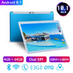 P30 10.1 Inch 4GB+64GB Android 8.1 WiFi Bluetooth Tablet PC Dual SIM Dual Camera 3G Network Calls Adults Children Tablet PC