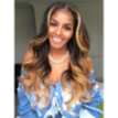 Mnycxen Fashion Women'S Long Curly Full Wig Synthetic Wavy Hair Party Lace Hair Wigs