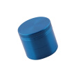 Zinc Alloy Grinding Machine Thin-Screen Herb Grinder Smooth Grind Spice Filter Blue