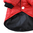 XS-XL Pet Dog Warm Winter Jacket Thickening Padded Clothes Comfortable And Breathable Hoodies Pug Clothes Small Dogs Outfits