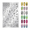 Splice Image Plate Nail Art Design Stamping Kits Manicure Template Set