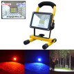 MIARHB 30W 24 LED Portable Rechargeable Flood Light Spot Work Camping Fishing Lamp
