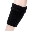 4 Pairs Winter Leg Warmer Knitted Protective Boot Cuff Warmer Boot Cuff Socks