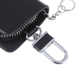Realistic leather men''s car key bag zipper bag storage bag car key bag wallet