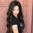 Natural Synthetic Wig Straight Curly Black Long Hair Party Wigs For Women